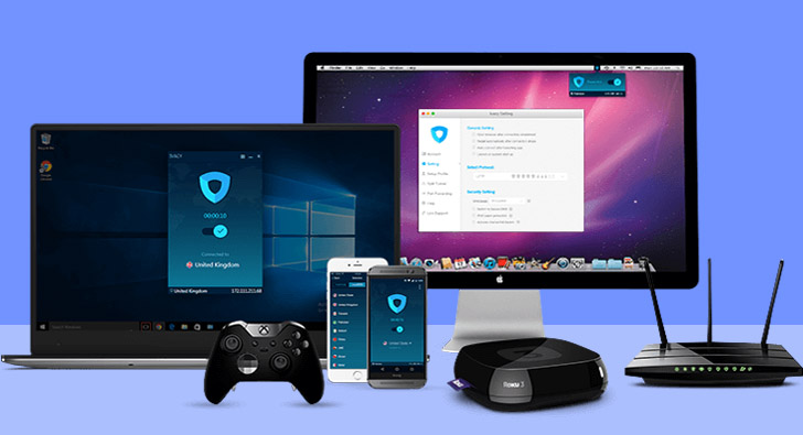 Web and Mobile Apps of Ivacy VPN