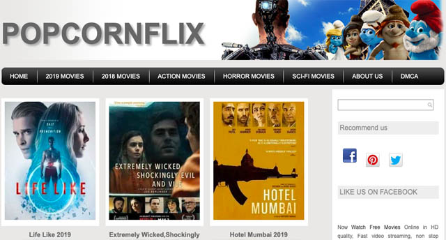 Popcornflix Alternetive for Xmovies8